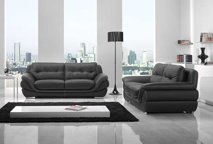 salon en cuir royal sofa id e de canap et meuble maison. Black Bedroom Furniture Sets. Home Design Ideas