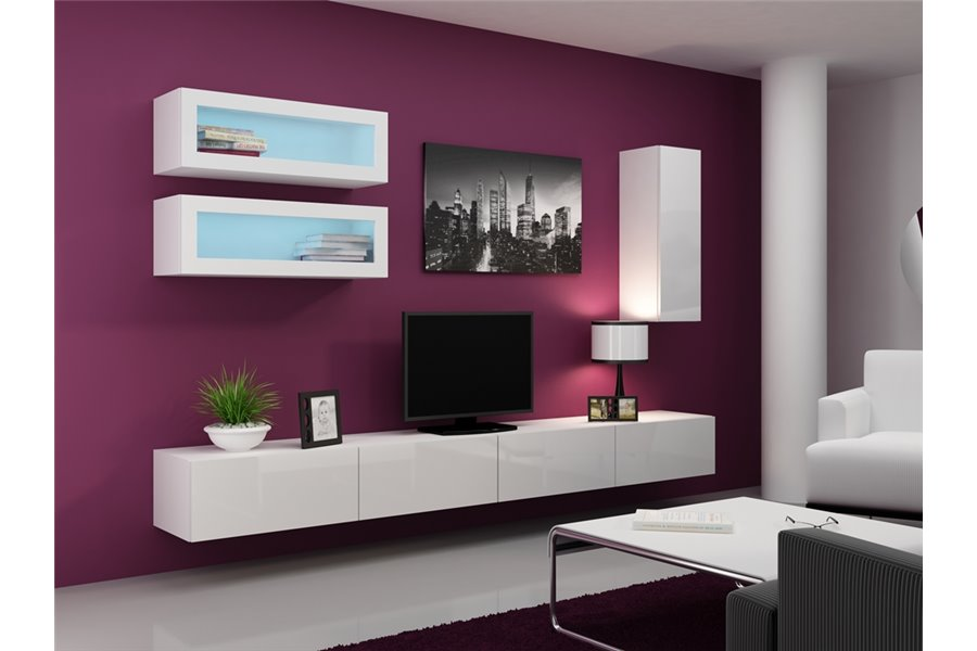 meuble tv a suspendre royal sofa id e de canap et meuble maison. Black Bedroom Furniture Sets. Home Design Ideas