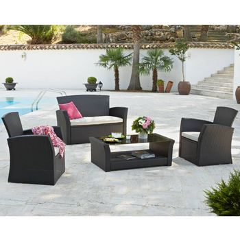 salon de jardin pas cher en resine royal sofa id e de canap et meuble maison. Black Bedroom Furniture Sets. Home Design Ideas