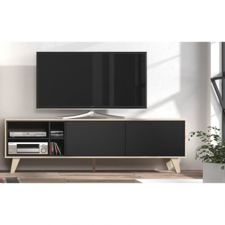 meuble tv zaiken royal sofa id e de canap et meuble maison. Black Bedroom Furniture Sets. Home Design Ideas